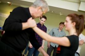 Teaching stage combat at Harvard University